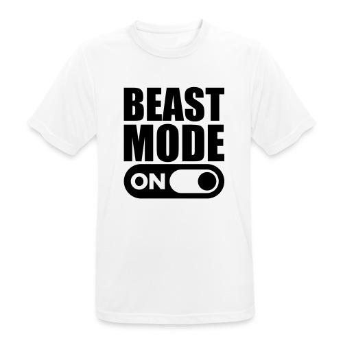 BEAST MODE ON - Men's Breathable T-Shirt