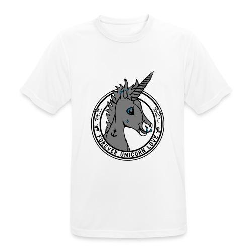 Colt - Unicorn Love (onwhite) - Männer T-Shirt atmungsaktiv