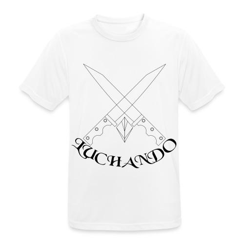 design 1 - Herre T-shirt svedtransporterende