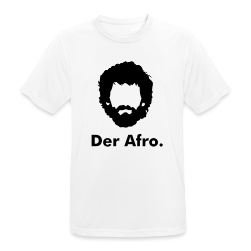 Der Afro - Men's Breathable T-Shirt