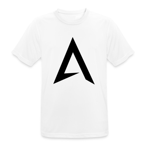 alpharock A logo - Men's Breathable T-Shirt