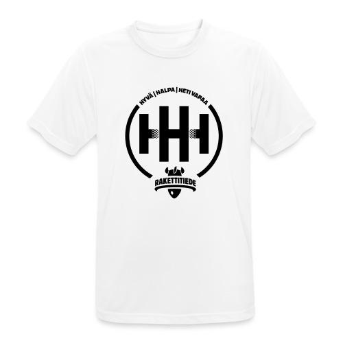 HHH-konsultit logo - miesten tekninen t-paita