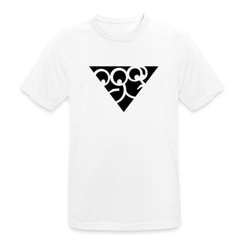 Aussenseiter-Shirt (Schwarz-Gelb) - Männer T-Shirt atmungsaktiv