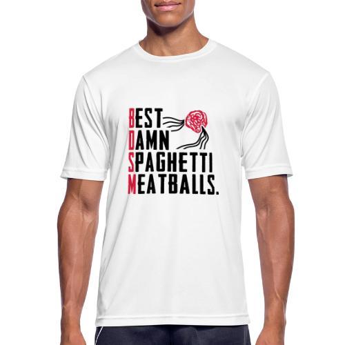 Best Damn Spaghetti - miesten tekninen t-paita