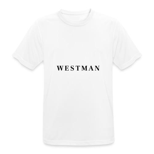 Black Westman - Mannen T-shirt ademend actief