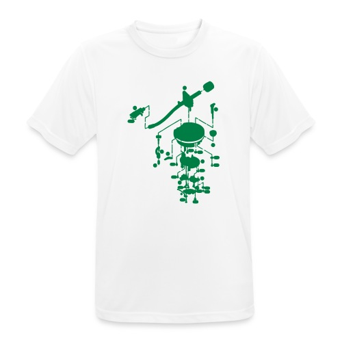 tonearm05 - Mannen T-shirt ademend actief