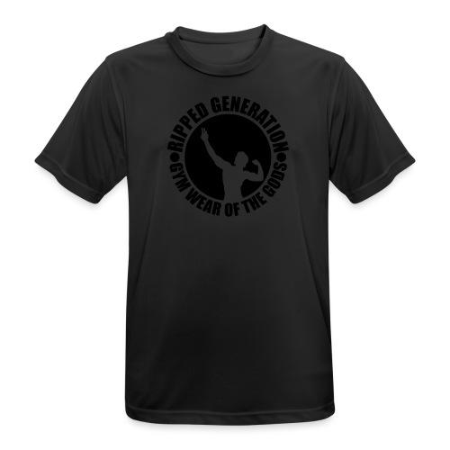 Ripped Generation Logo - miesten tekninen t-paita