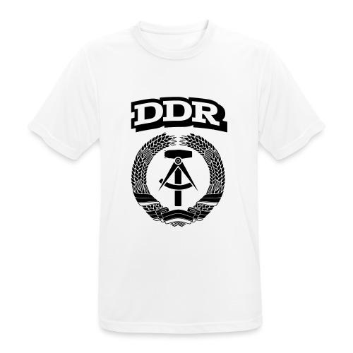 DDR T-paita - miesten tekninen t-paita