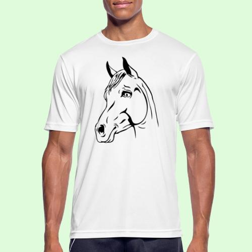 Tête de cheval - T-shirt respirant Homme
