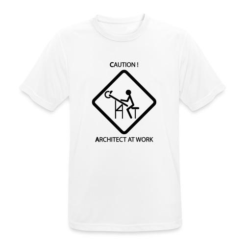 Architect at work - Maglietta da uomo traspirante