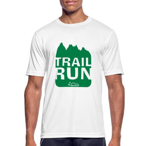Trail Run - Männer T-Shirt atmungsaktiv