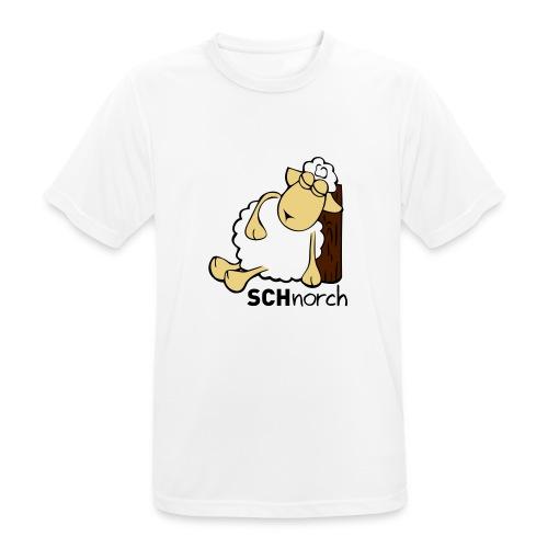 Schaf Schlaf Lustig - Männer T-Shirt atmungsaktiv