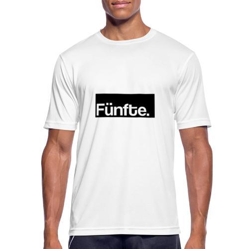 Fünfte. Boxed - Männer T-Shirt atmungsaktiv