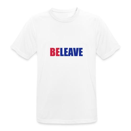BeLeave - Men's Breathable T-Shirt
