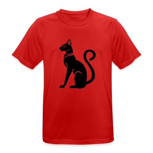 Bastet - Katzengöttin im alten Ägypten - Männer T-Shirt atmungsaktiv