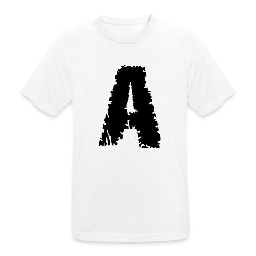 Zombie , Schriftart , - Männer T-Shirt atmungsaktiv