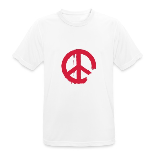 PEACE - Männer T-Shirt atmungsaktiv