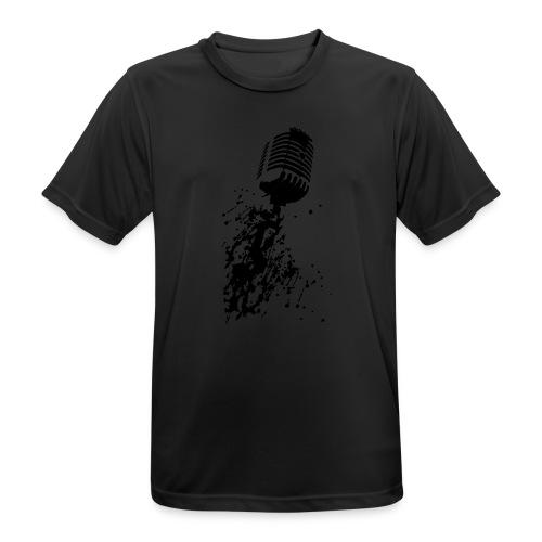 dirtymic - Mannen T-shirt ademend actief