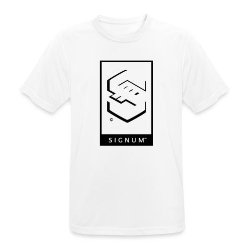 signumGamerLabelBW - Men's Breathable T-Shirt