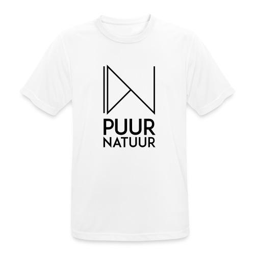 PUUR NATUUR FASHION BRAND - Mannen T-shirt ademend actief