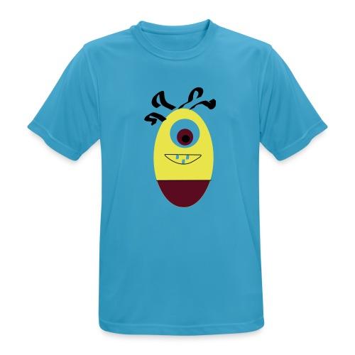 Gult æg - Herre T-shirt svedtransporterende