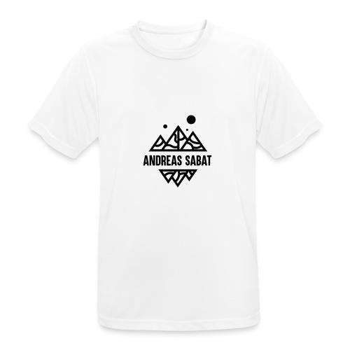 sabat logo black - Herre T-shirt svedtransporterende