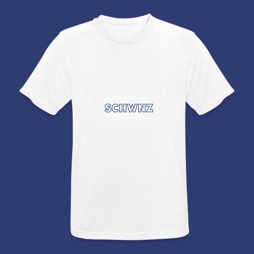 SCHWNZ - Mannen T-shirt ademend actief