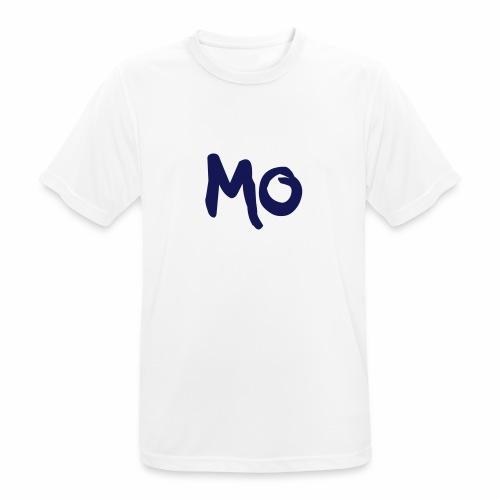 MO Logo - Männer T-Shirt atmungsaktiv