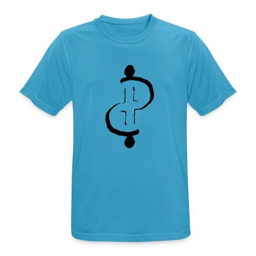 TwoFriends - Maglietta da uomo traspirante