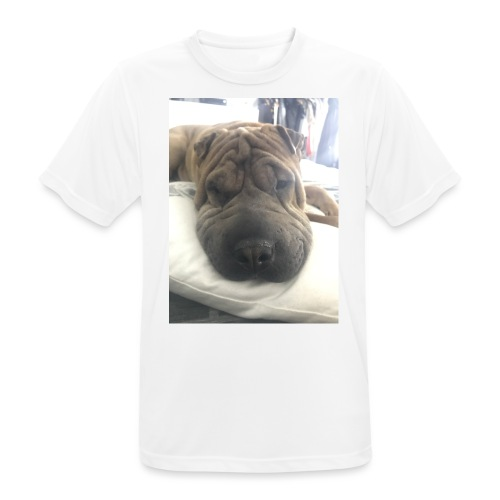 Closeup Shar-pei - Men's Breathable T-Shirt