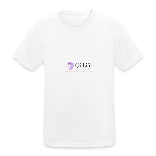 Qi Life Academy Promo Gear - Men's Breathable T-Shirt