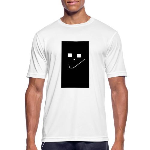 Smile :) - Männer T-Shirt atmungsaktiv