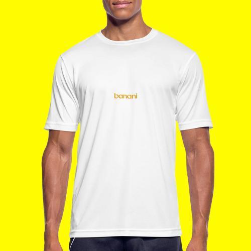 Banani-Schriftzug - Männer T-Shirt atmungsaktiv