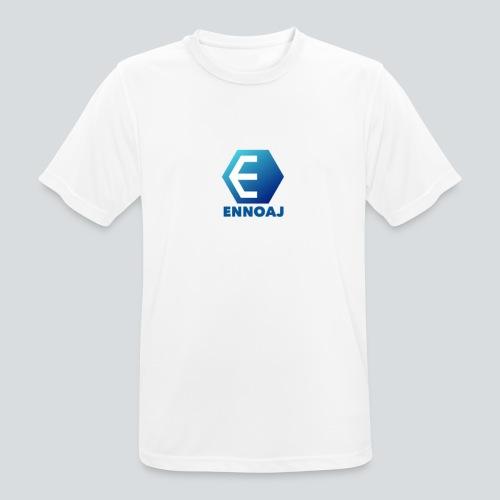 ennoaj - Mannen T-shirt ademend actief