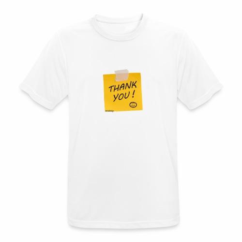 Thank you - Männer T-Shirt atmungsaktiv