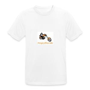 enjoytheride - T-shirt respirant Homme