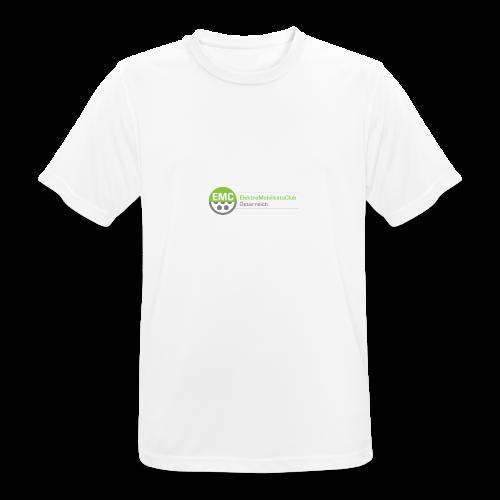 ElektroMobilitätsClub Logo - Männer T-Shirt atmungsaktiv
