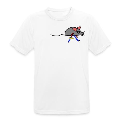 Maus mit Käse Lustiges Motiv - Männer T-Shirt atmungsaktiv