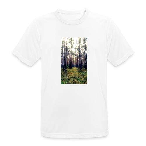 Las we mgle - Koszulka męska oddychająca
