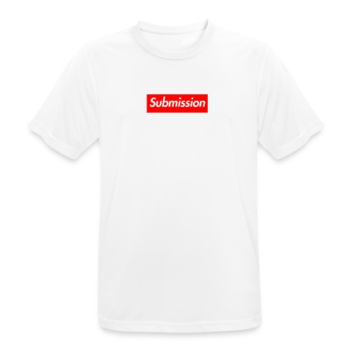 Submission Box Logo - Men's Breathable T-Shirt
