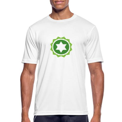 The Heart Chakra, Energy Center Of The Body - Men's Breathable T-Shirt