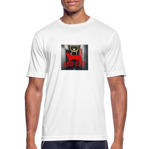 Red Cat (Deluxe) - Men's Breathable T-Shirt