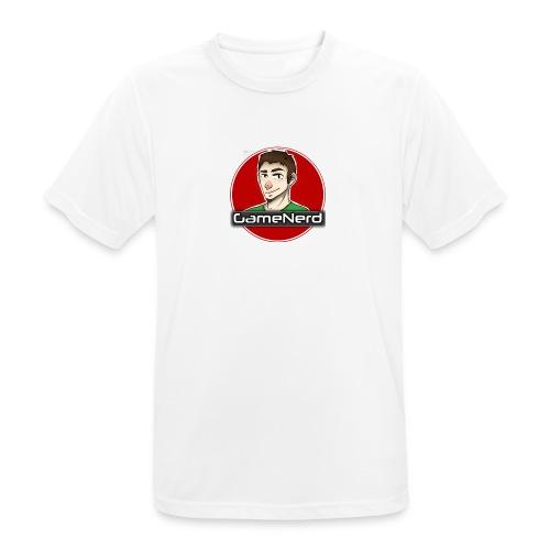 GameNerd Logo - Andningsaktiv T-shirt herr