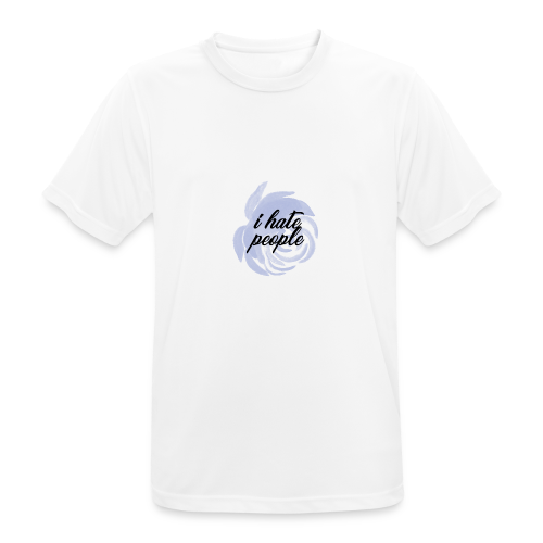 I Hate People Blue - Men's Breathable T-Shirt