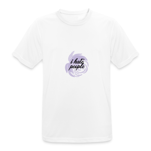 I Hate People Lilac - Men's Breathable T-Shirt