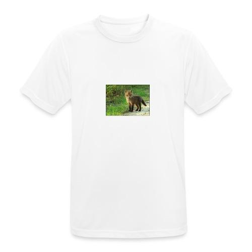 vossen shirt kind - Mannen T-shirt ademend actief