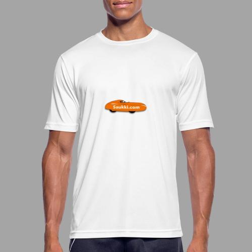Saukki.com - miesten tekninen t-paita