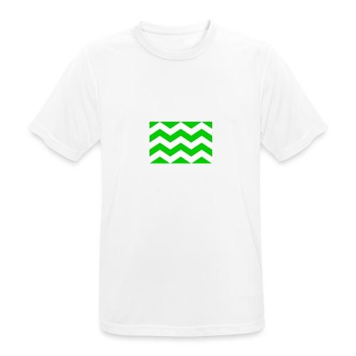Vlag westland kassen - Mannen T-shirt ademend actief