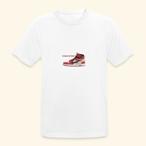 GET SNEAKERS NOT FRIENDS - Camiseta hombre transpirable