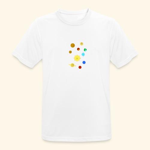 Solsystemet - Andningsaktiv T-shirt herr